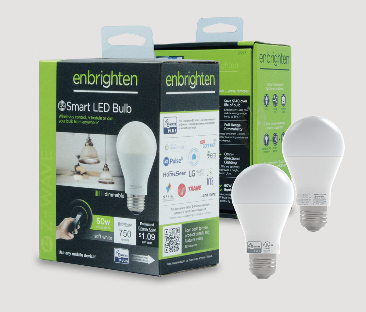 Navigate to Project Enbrighten Smart LED Bulbs